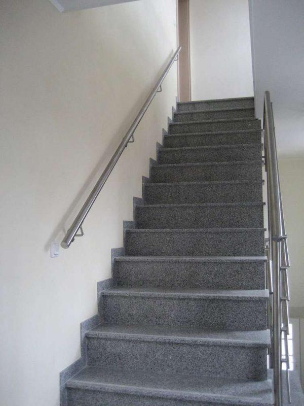 handlauf edelstahl treppe
