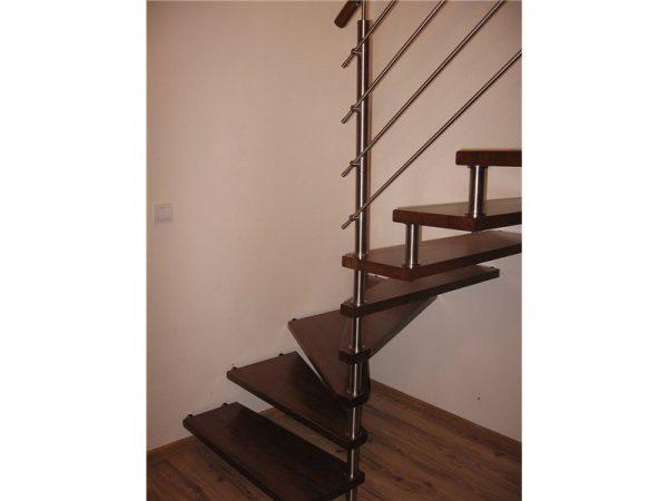 Treppe Rohraufnahme