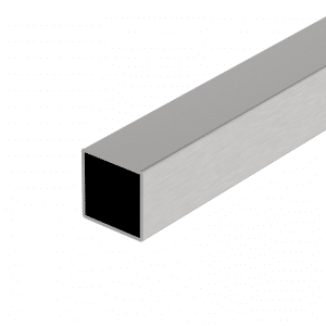 Vierkantrohr 40×40 3m Edelstahl